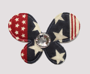 #007BFUSA - Butterfly Delight, Patriotic Stars 'n Stripes