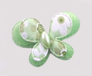 #012BFSGR - Green Butterfly Delight, Small