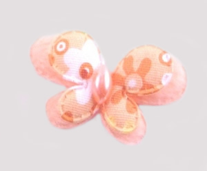 #013BFSPH - Peach Butterfly Delight, Small