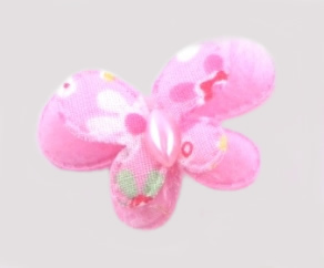 #014BFSPK - Pink Butterfly Delight, Small