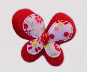 #015BFMRD - Red Butterfly Delight, Medium