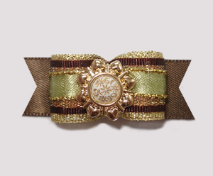 "#2041 - 5/8"" Dog Bow - Special Occasion, Gorgeous"