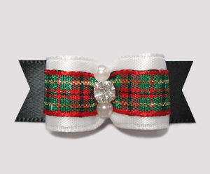 "#2308 - 5/8"" Dog Bow - Gorgeous, Dress Up For the Holidays"