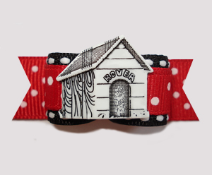 "#2651 - 5/8"" Dog Bow - In The Dog House"