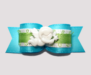 "#2659- 5/8"" Dog Bow- Oklahoma Angel of Help & Hope Non Profit"
