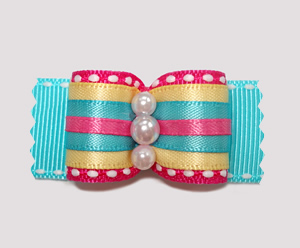 "#A6927 - 7/8"" Dog Bow - The Bold and The Beautiful"