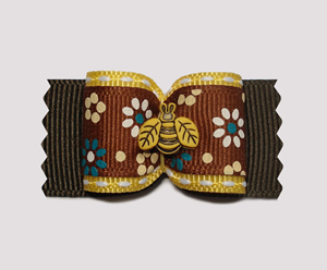 "#A6962 - 7/8"" Dog Bow - Buzzy Bee Country Garden"