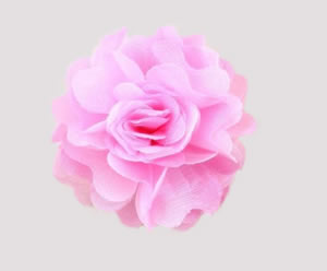 #ASPRBLM25 - Dog Hair Clip - Spring Blossom, Light Pink