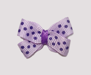 #BBTQ098 - Baby Boutique Bow - Pretty Purples