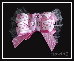 #BTQ010 - Boutique Dog Bow - Tutu Sweet