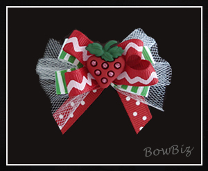 #BTQ070 - Boutique Bow - Sweet Strawberry Sensation