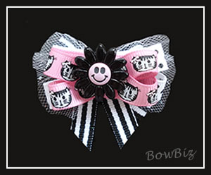 #BTQ170 - Boutique Dog Bow - Little Miss Purr-fect
