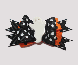 #BTQM256 - Mini Boutique Bow Halloween Boo-tique