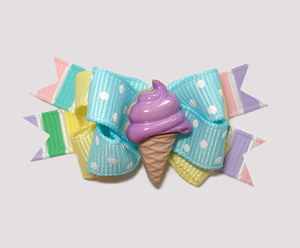 #BTQM300 - Mini Boutique Bow Sweet Treat, Ice Cream Cone