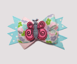 #BTQM360 - Mini Boutique Bow Flower Garden Butterfly
