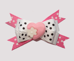 #BTQM640 - Mini Boutique Bow My Little Sweetheart, Pink