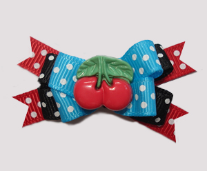 #BTQM868 - Mini Boutique Bow Very Cherry