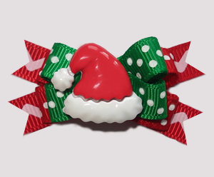 #BTQM899 - Mini Boutique Bow HoHoHo, Here Comes Santa Claus!