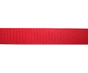 "#DIY38-0460 - 12"" of 3/8"" Ribbon - Cardinal Red Grosgrain"
