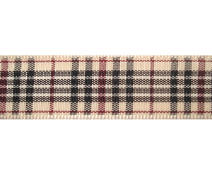 "#DIY58-0310 - 12"" of 5/8"" Ribbon- Classic Designer Plaid"