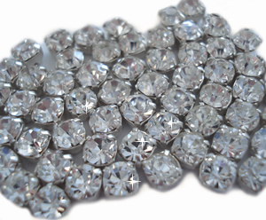 #DIYEM-2000 - Do It Yourself Crystal Sew-On Rhinestones