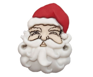 #DIYEM-4050 - Novelty Button Santa Face