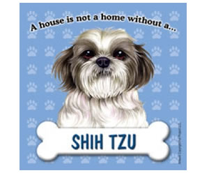 Fridge Magnet - Shih Tzu