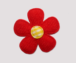 #FP0088 - Flower Power - Vibrant Red/Yellow
