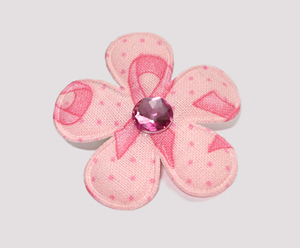 #FP0700 - Flower Power - Pink Ribbon, Awareness