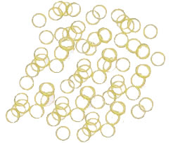 "#G4980 - Latex Grooming Bands (Elastics) 5/16"", White"