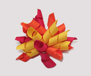 #KRKM300 - Mini Korker Dog Bow - Hot Tropic