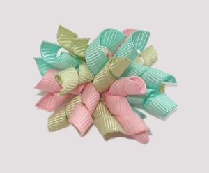 #KRKM370 - Mini Korker Dog Bow - Baby Sweet Pastels