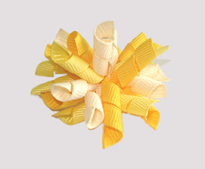 #KRKM500 - Mini Korker Dog Bow - You Are My Sunshine