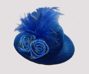 #RTT04 - Tiny Topper Hat, Blazing Blue
