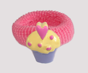 #SF0483 - Scrunchie Fun - My Little Cupcake, Pink Band