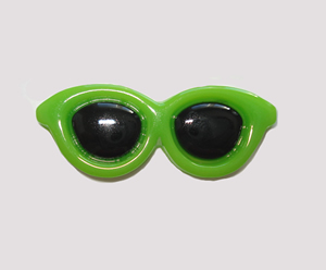 #SG011 - Dog Hair Clip - Sizzlin' Summer Sunglasses - Green