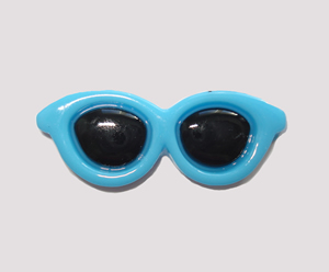 #SG022 - Dog Hair Clip - Sizzlin' Summer Sunglasses - Blue