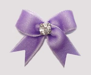 #VEL070 - Velvet Mini with Rhinestone Lovely Lavender