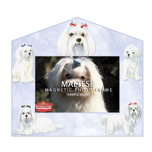 Magnetic Photo Frame - Maltese
