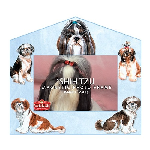Magnetic Photo Frame - Shih Tzu