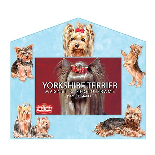 Magnetic Photo Frame - Yorkshire Terrier
