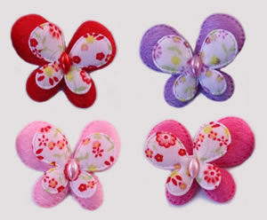 #009BFGRPM - Butterfly Delight, Medium, Package of 4