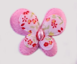 #017BFMPK - Pink Butterfly Delight, Medium