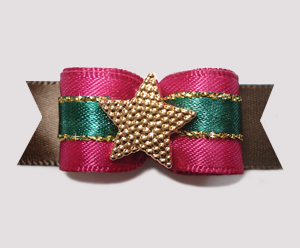 "#2521 - 5/8"" Dog Bow - Star Shine, Star Bright"