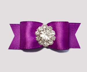 "#3200 - 5/8"" Dog Bow - Stunning, Orchid Purple Elegance"
