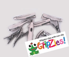 #CLIP0102 - Do It Yourself - Alligator Clip with GripZie