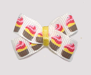 #BBTQ040 - Baby Boutique Dog Bow - My Little Cupcake Cutie