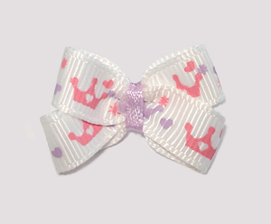 #BBTQ050 - Baby Boutique Dog Bow - Pretty Little Princess Crowns