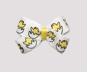 #BBTQ060 - Baby Boutique Dog Bow - Cute Little Chickies