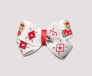 #BBTQ070 - Baby Boutique Bow - Darling Little Yorkie Baby